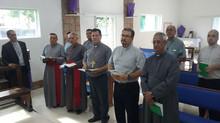 Missa dos Santos Óleos em Barra de São João.