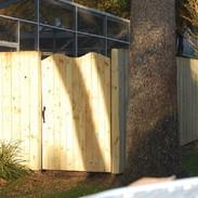 Wood Fence Style Stockade