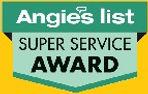 Angie's List Super-Service logo yellow b