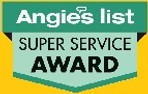Angie's List Super-Service logo yellow b