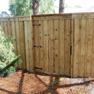 Wood Fence Style Cap & Fascia