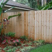 Wood Fence Style Eco Life Vertical Board on Board