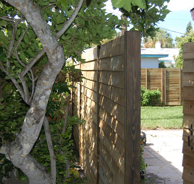 Wood Fence Style Ship Lap