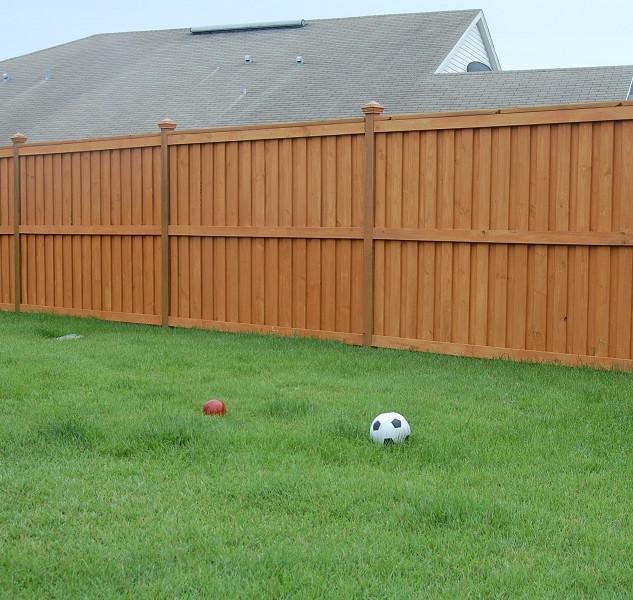 Wood Fence Style Stringer Up  & Stringer Down