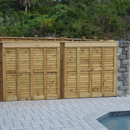 Wood Fence Styles Cladding