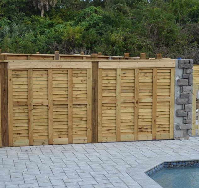 Wood Fence Styles Cladding