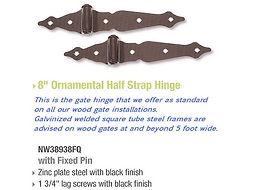 nationwide  ornamental wood half strap g