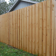 Wood Fence Styles Board on Board