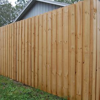 Wood Fence Styles Board on Board