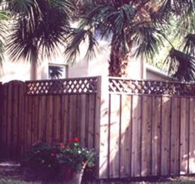 Wood Fence Styles Board & Baton