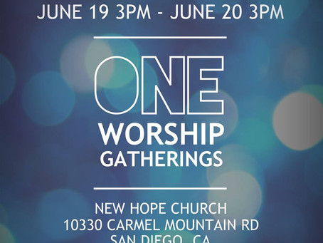 ONE Worship Gathering