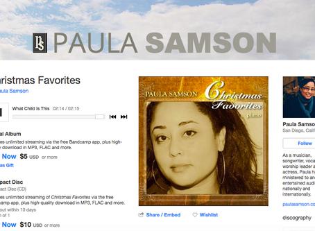 Paula's Christmas Favorites Piano Album