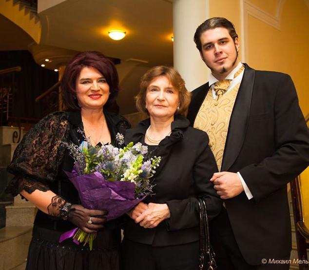 На премьере нашей оперы _Самозванка_ при