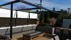 slide on wire awning roof top