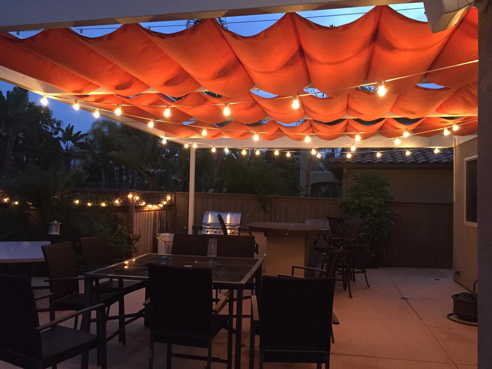 Sunbrella Oraange Canopy
