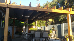 10x14 Sunbrella Charcoal Grey