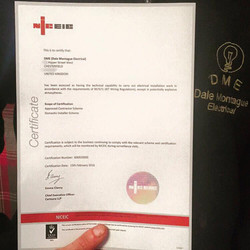 NIC EIC certificate