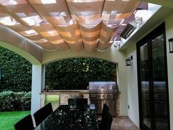Slide wire Infinity Canopy Stucco