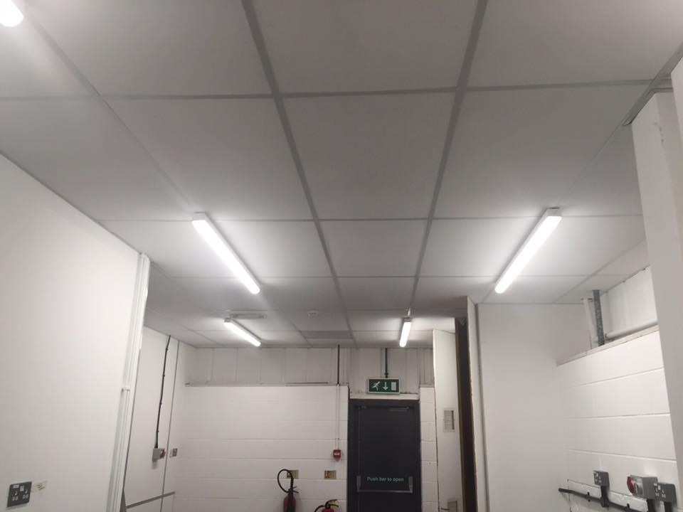 LED lighting installation