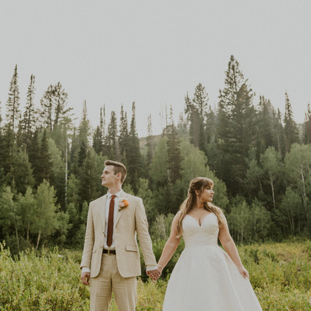 Utah Mountain Bridal Session Photoshoot