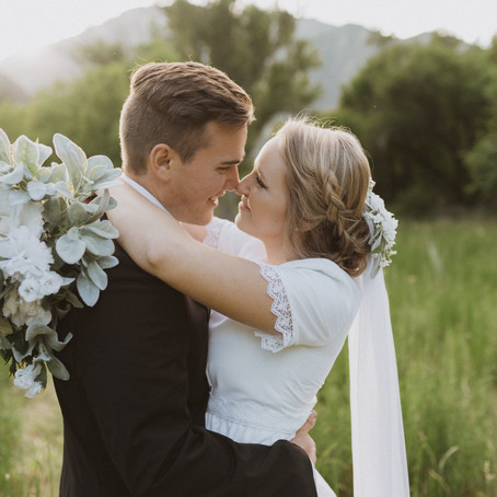 Connor & Peggy | Provo Canyon Bridal Pictures