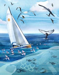 Ellen Macarthur - Whales Tail