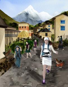 Mira Rai - Village Run