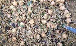 Quinoa & Chickpea Spiced Salad