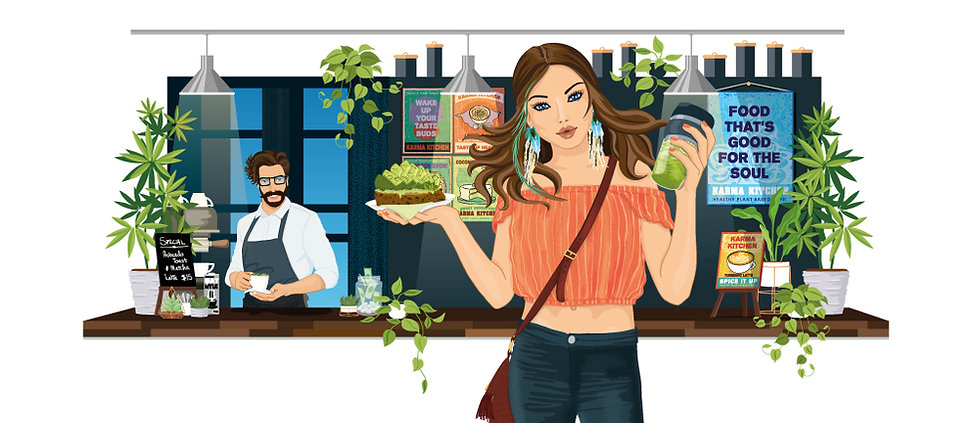 Jacquie O'Neill Illustration - Vector Illustrations