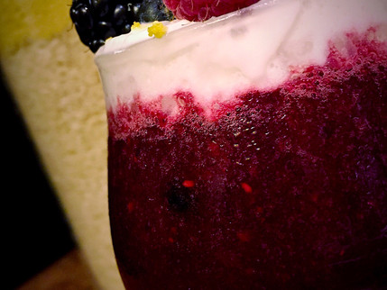 Wine Berry Smoothies