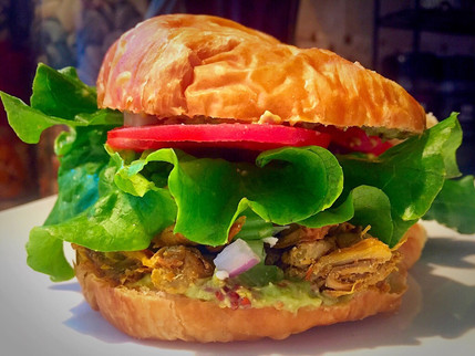 Jackfruit 'Chicken' Salad Sandwich