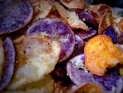 Tri-Colored Potato Chips