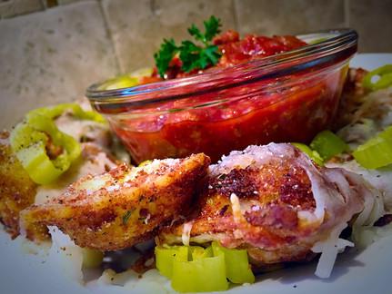 Crispy Ravioli Italian Nachos