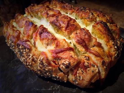 Caprese Pull Apart Bread