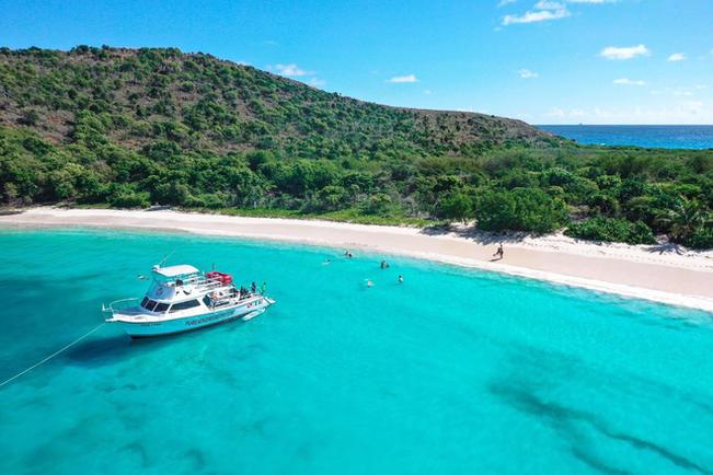 Culebra Island Boat Beach Snorkeling Tou