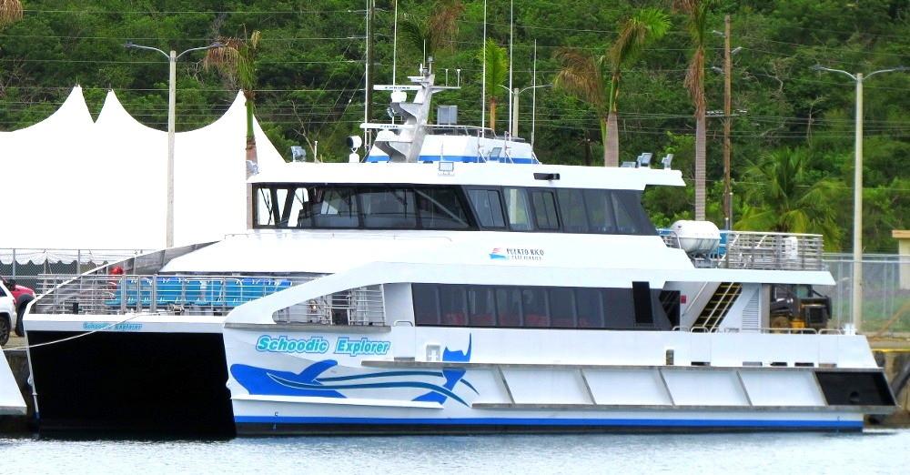 Ceiba-Culebra Ferry