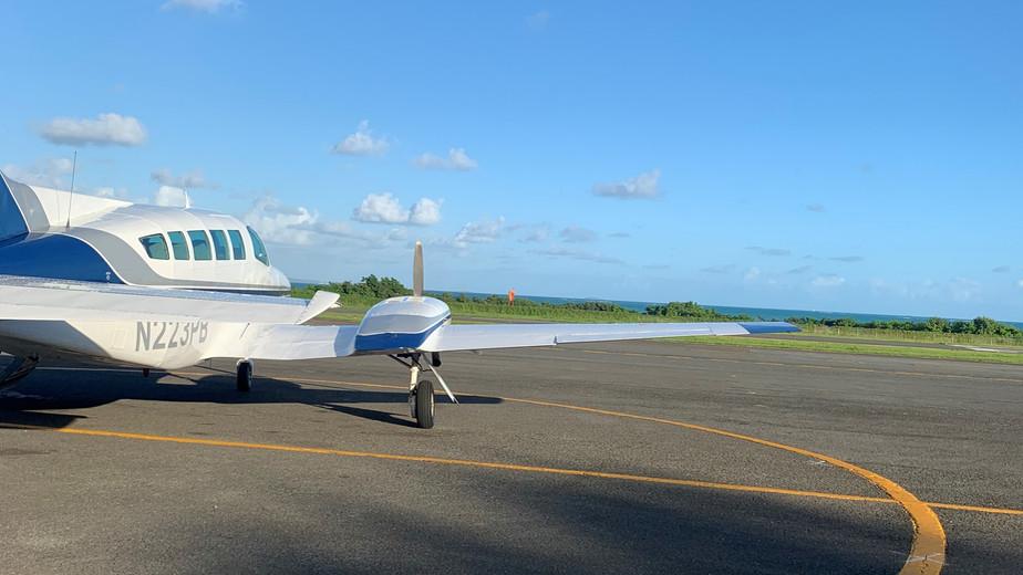 Flight to Culebra Island