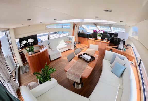 Sunseeker Predator 82' Yacht Charter int