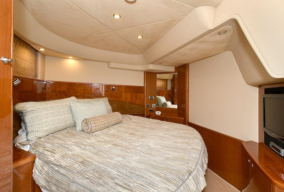 Bedroom 1 Princess V58 Yacht