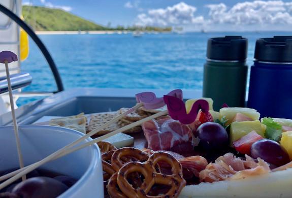 Beach Snacks Sailing Puerto Rico