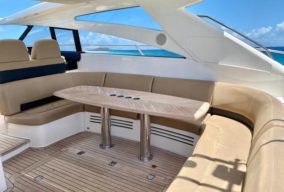 Princess 58 Yacht Rental Puerto Rico