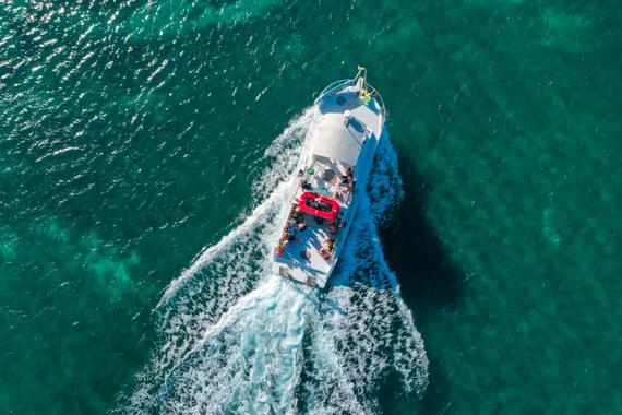 Vieques Boat Tour Departure
