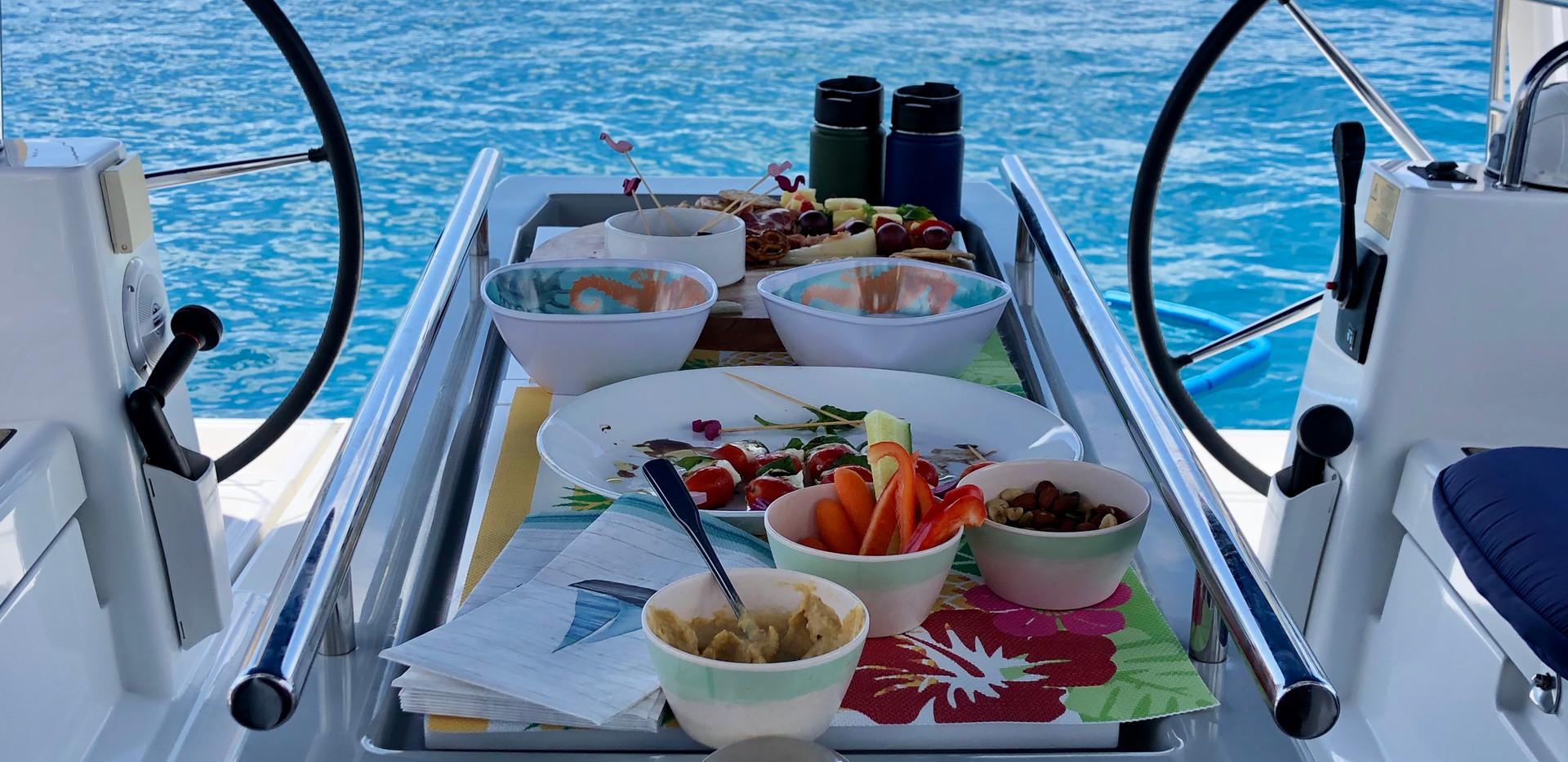 Lunch at Sailing Puerto Rico