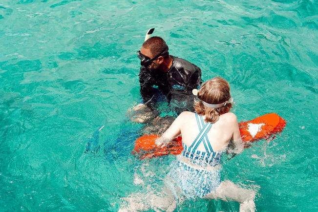 101 Snorkeling class for Vieques and Culebra boat tour