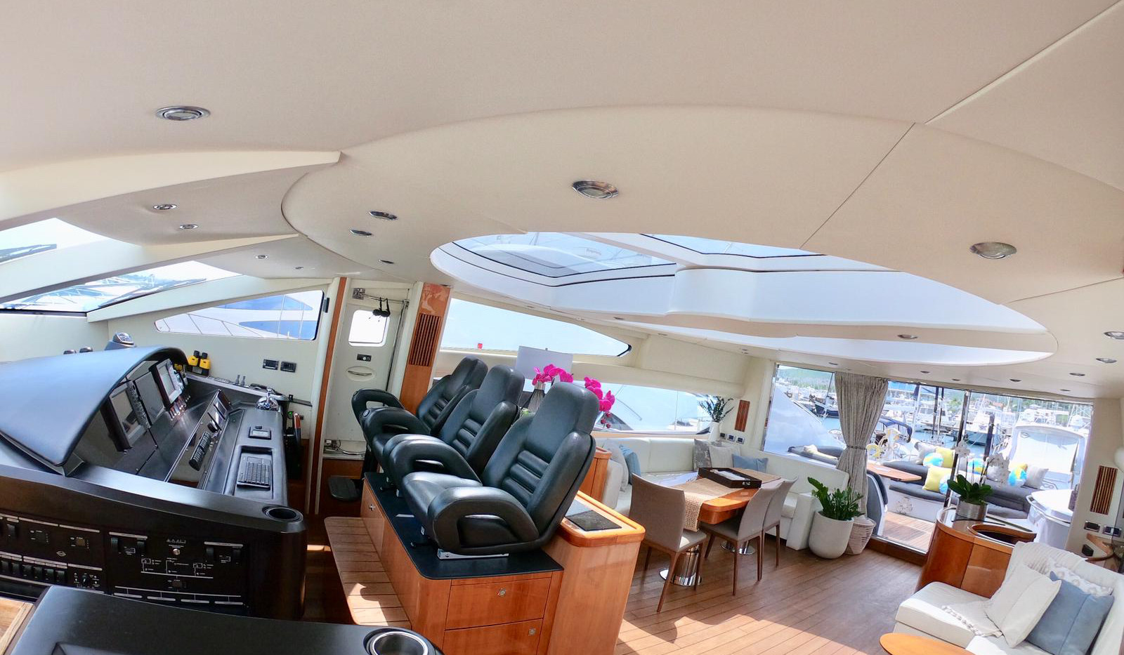 Luxury Yacht Rental Interior Puerto Rico