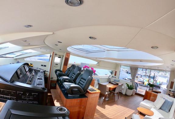 Luxury Yacht Rental Interior Puerto Rico