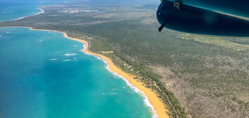 Aerial View East Coast Puerto Rico