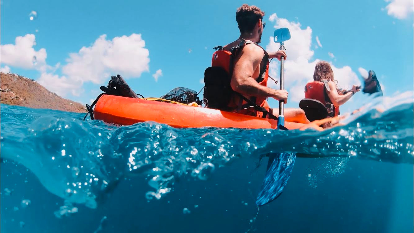 Kayaking Snorkeling Tour I VENTURES
