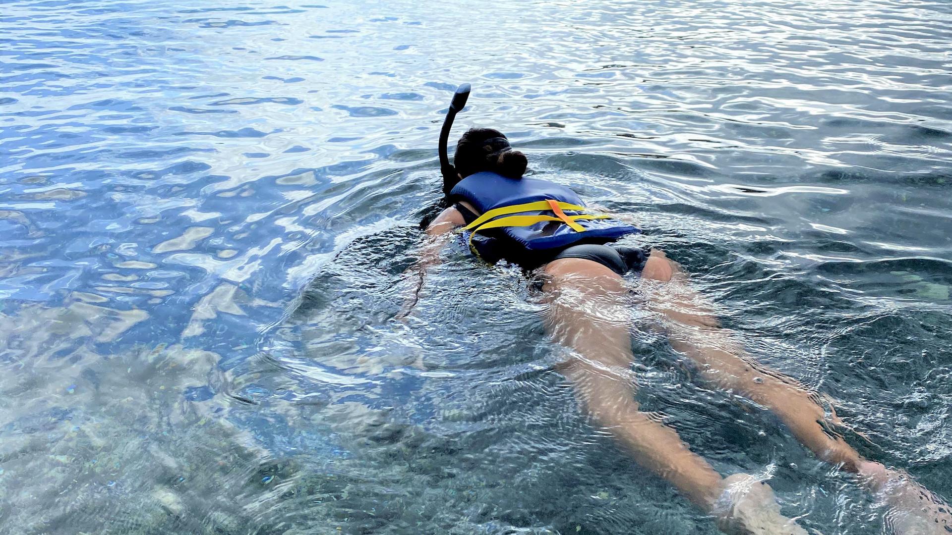 Snorkeling at Tamarindo Beach Culebra