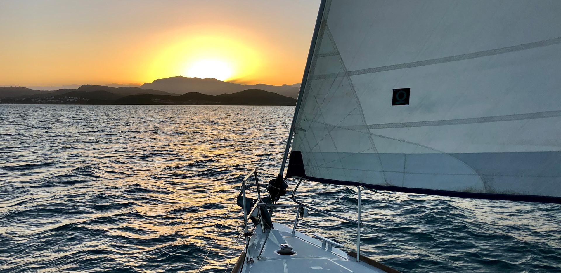 Sunset Luxury Sailing Puerto Rico